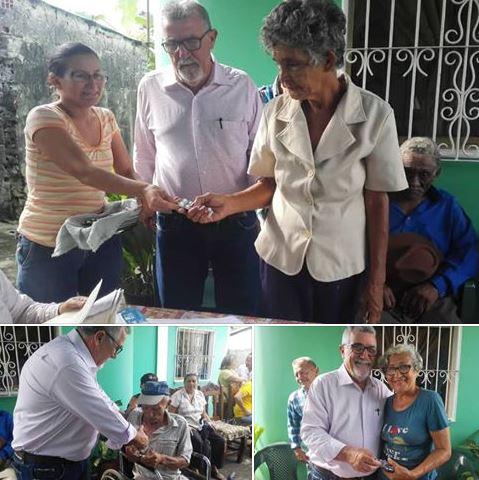 APURE: Diputado Luis Lippa realizó entrega de donativos médicos proveniente del gobierno de Taiwán en la entidad.