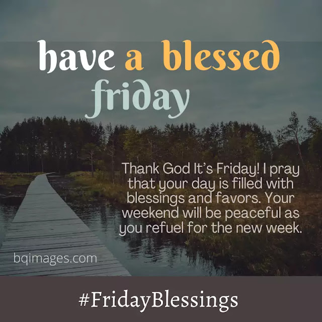 friday blessings and prayers