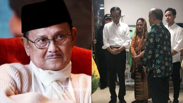 Habibie Wafat Lima Menit Sebelum Jokowi Tiba di RSPAD