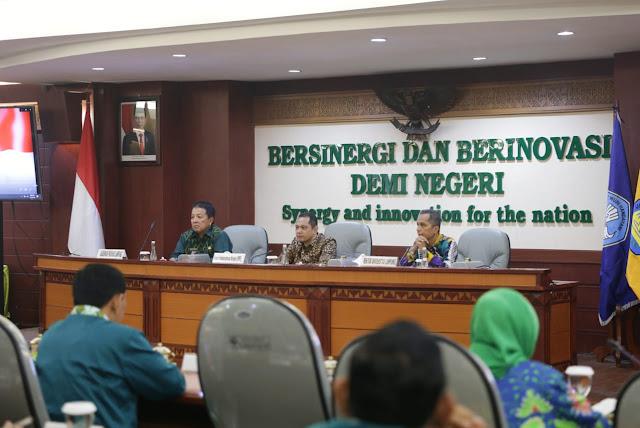 Pada Acara Seminar Nasional Bersama KPK, Gubernur Ajak Perguruan Tinggi Bersinergi Cegah Korupsi