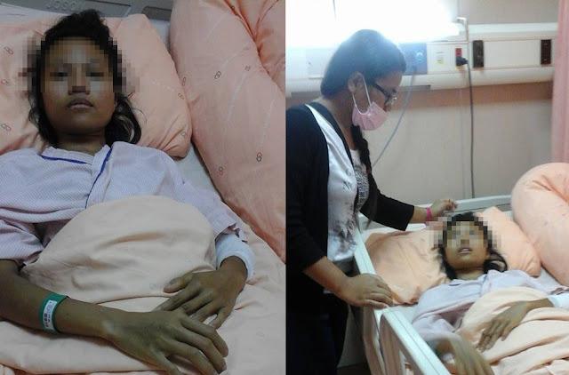 TKW Indramayu di Taiwan Mencoba Bunuh Diri Terjun Dari Lantai 4 Karena Tertekan Oleh Majikan dan Agensy