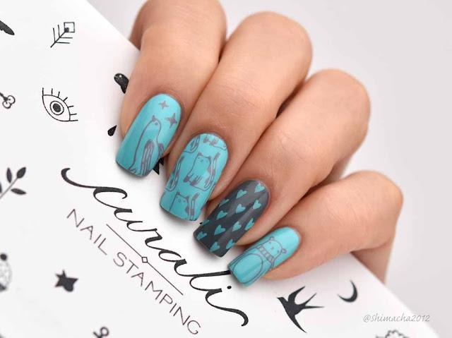 Curali Nail Stamping Plate, スタンピングネイル