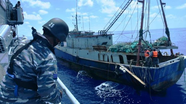 Pangarmabar: Satu dari 11 Kapal Ikan China Ditangkap karena Tebar Jaring