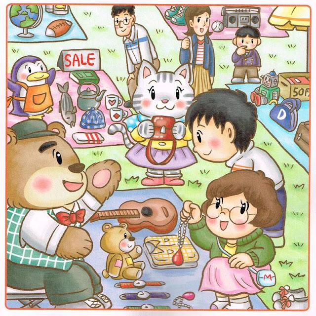 パズル誌,間違い探し,教材イラスト,児童書イラスト,絵本,イラスト,漫画,ほのぼのイラスト