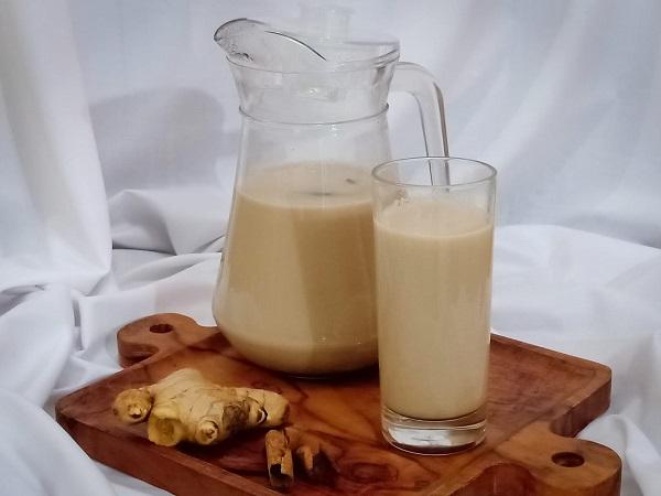 Cara membuat bajigur fiber creme