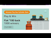 Amazon Pay Gas Cylinder Quiz Answers 16 Feb 2021