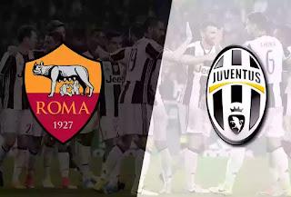pertandingan big match AS ROMA VS JUVENTUS