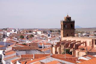 Azuaga, vista parcial desde el Castillo