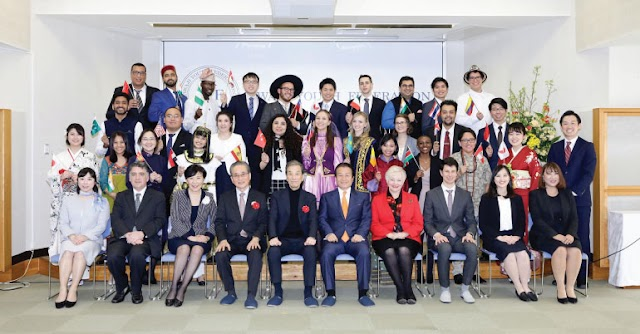 Awaji Youth Federation Young Leaders 2020 In Japan
