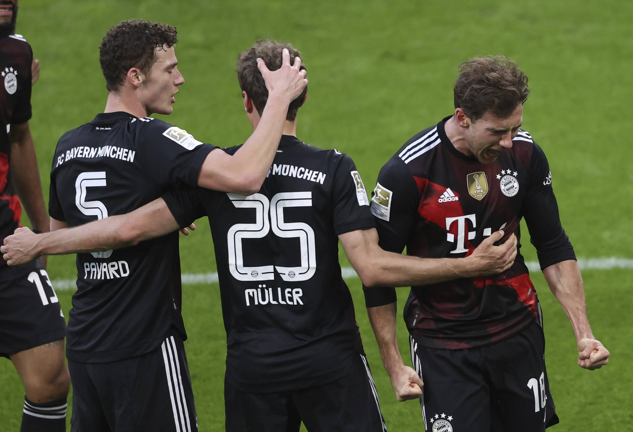 Bayern Munich will seek to maintain their lead at the top of the standings