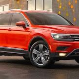 2018 Volkswagen Tiguan : VW's rewrote crossover prioritizes room over pace.