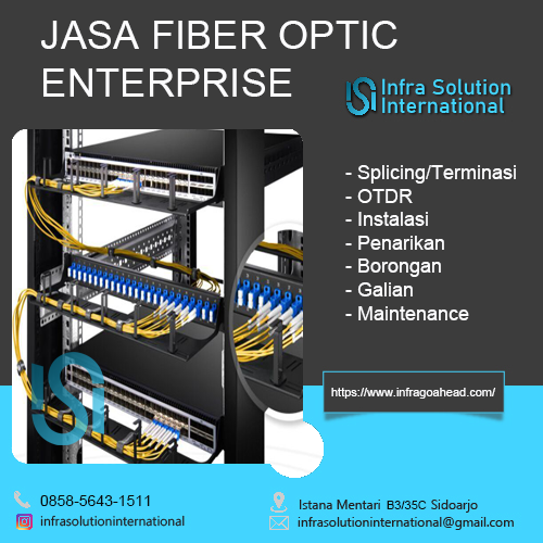 Jasa Splicing Fiber Optic Madura Enterprise