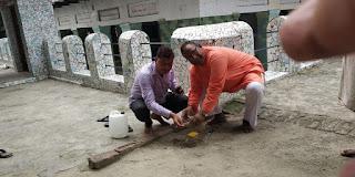 विहिप कार्यकर्ताओं ने किया श्रीराम मन्दिर निर्माण की नींव के लिए मिट्टी व जल का संग्रह | #NayaSaveraNetwork