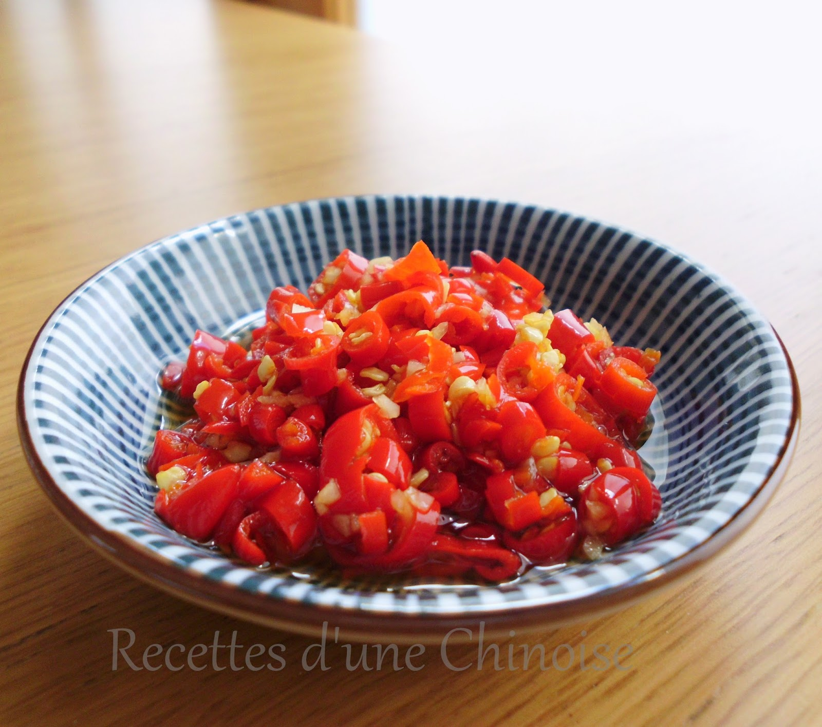 recettes d 39 une chinoise lacto fermentation duo jiao ou piments hach s et ferment s. Black Bedroom Furniture Sets. Home Design Ideas