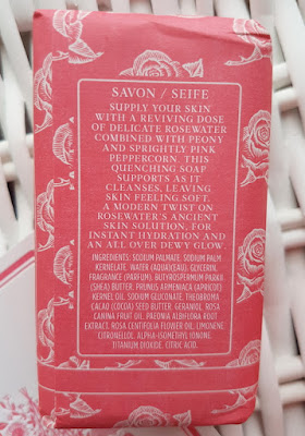 Crabtree & Evelyn Rosewater & Pink Peppercorn Soap