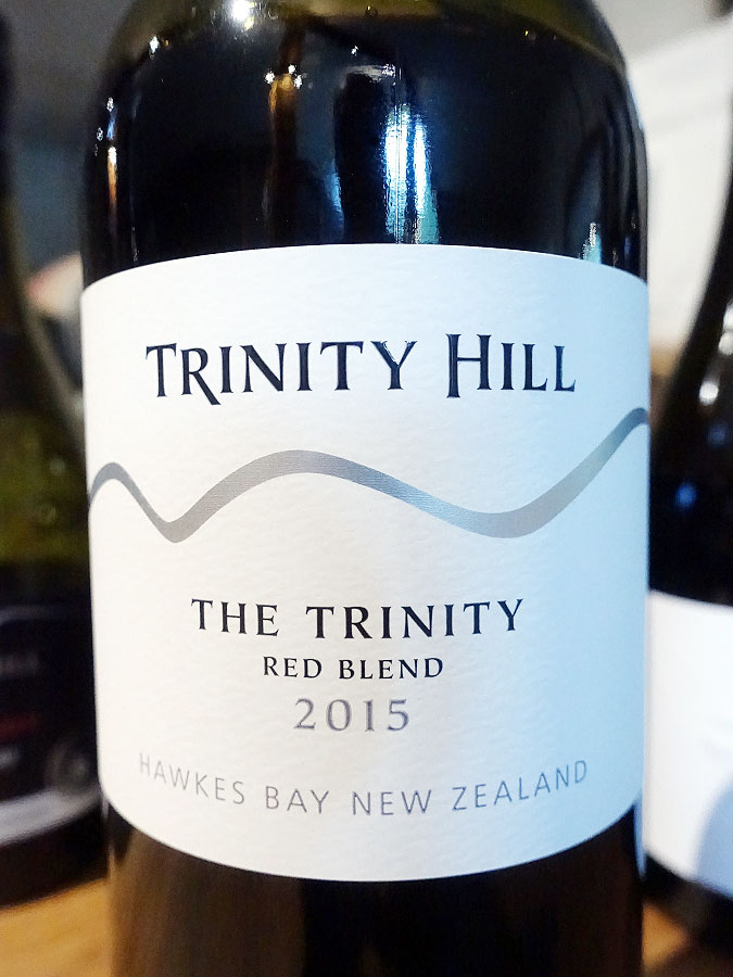 Trinity Hill The Trinity Red Blend 2015 (89 pts)