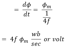 EMF Equation of Transformer - Turn & Transformation Ratio
