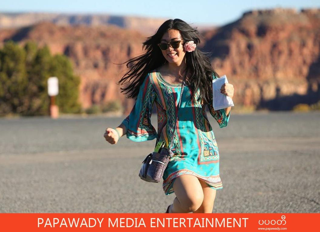 Myanmar Actress Phway Phway In Action : Popular 10 Pictures