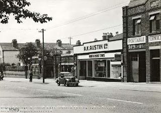 A K Austin Ltd of  Mansfield Road July 1950