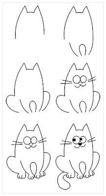 Para a Quarentena em casa: Passo a passo de como desenhar coisas fofas