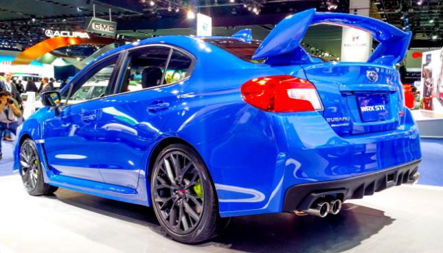 2018 Subaru WRX STI Release Date