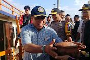 Pengiriman Logistik Pilgub Sulsel Untuk 5 Wilayah Kecamatan Kepulauan Selayar Dikawal Ketat Pihak Keamanan