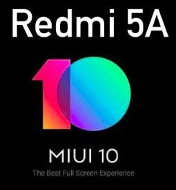 cara upgrade MIUI 10 di Redmi 5A