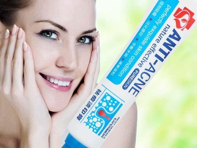 Reducir los Puntos negros, Equilibrar el Agua y el Aceite, la Crema Contra el Acné Espinilla Regenera la piel, 30 g