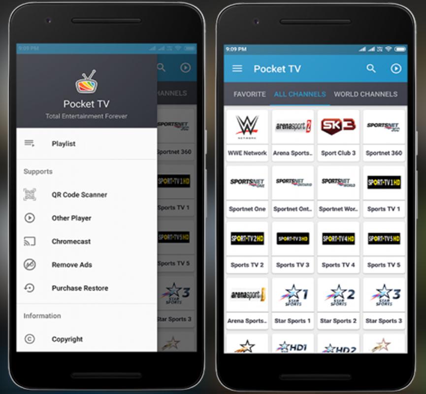 تحميل تطبيق Master Pocket TV لمشاهدة القنوات المشفرة مجاناً