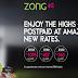 Zong 4G Postpaid  4G เครือข่ายอันดับ 1 4G ของปากีสถาน ได้ออกแพคเกจรายเดือนลดค่าใช้บริการ 50%