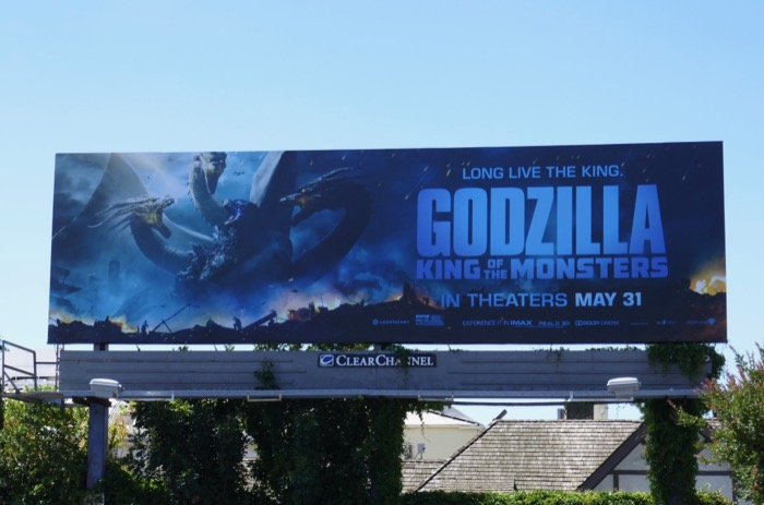 Godzilla King of the Monsters billboard