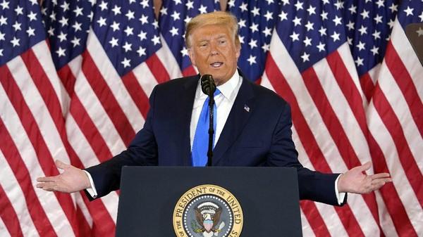Trump Mengklaim Jutaan Suaranya Dihapus dan Dialihkan ke Biden