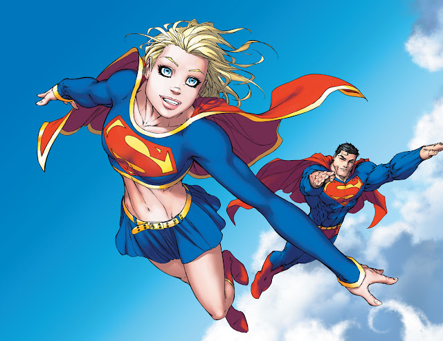 supergirl superman crossover