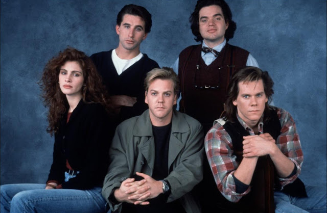 Julia Roberts, Kiefer Sutherland, Kevin Bacon, William Baldwin, Oliver Platt - Flatliners (1990)