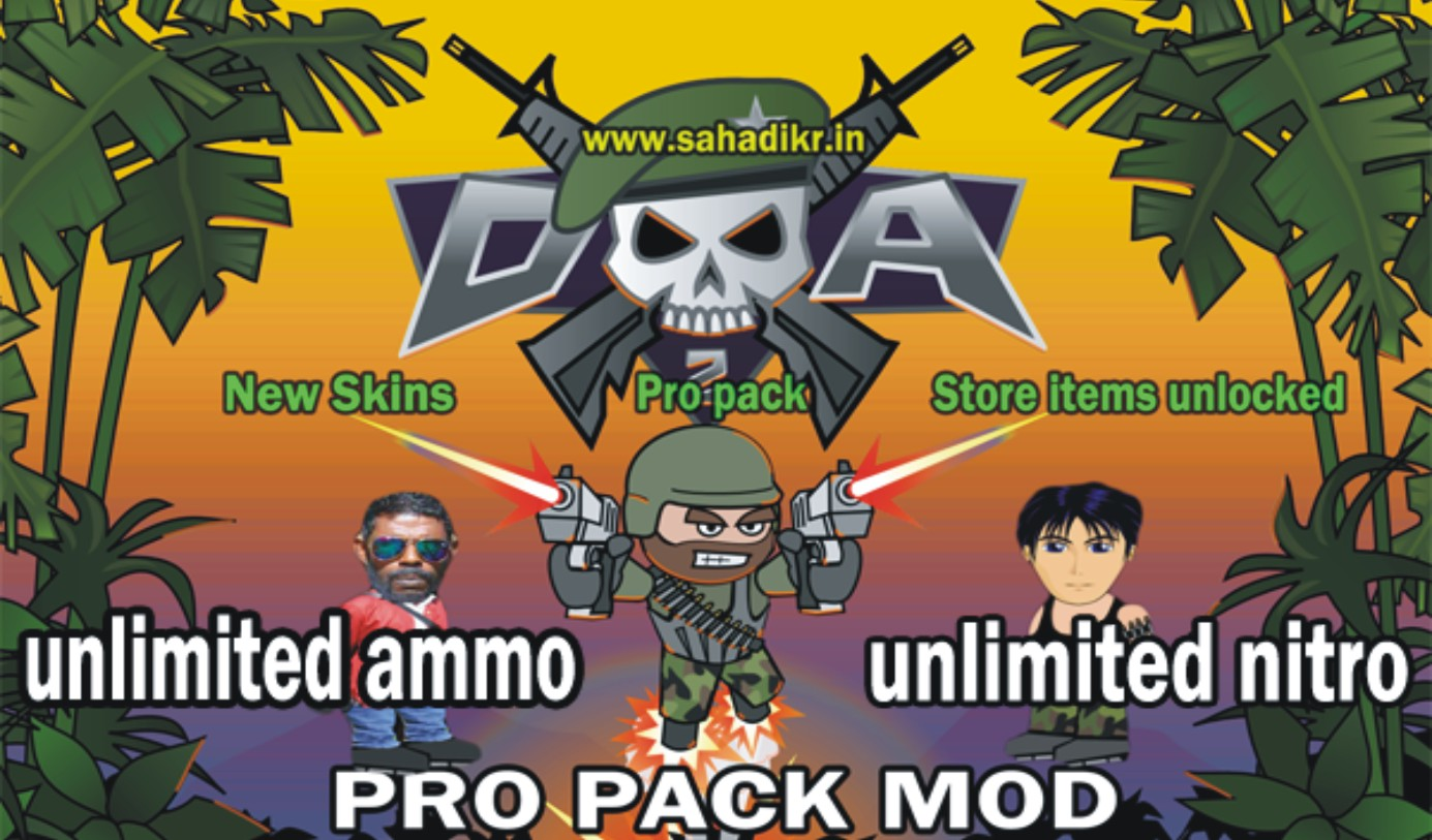 mini militia apk unlimited ammo and nitro