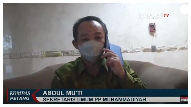 Muhammadiyah: Pedagang Tak Penuhi Protokol Diuber, Elite Agama Dibiarkan