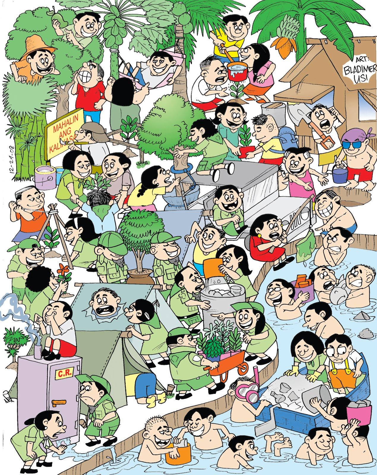 Komiks Tungkol Sa Kalikasan