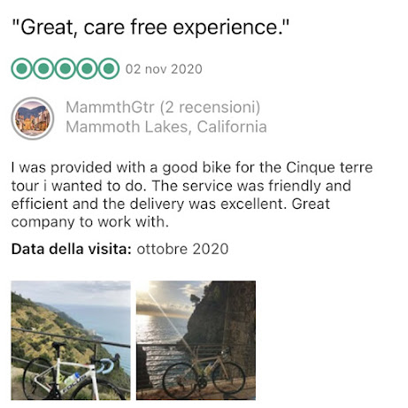 carbon road bike rental cinque terre cycling italy veloce bike rental reviews