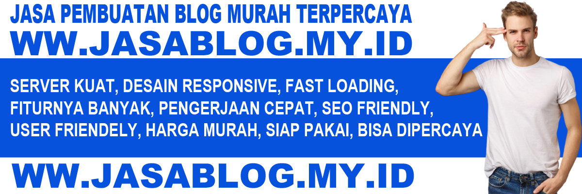 jasa website  blog landing page
