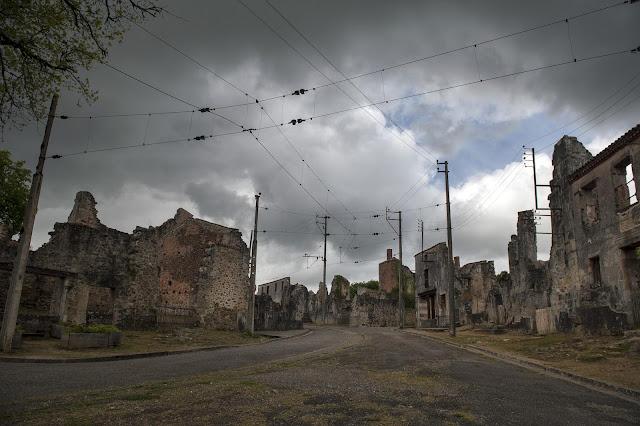 5 ORADOUR-SUR-GLANE  el horror de la Segunda Guerra Mundial