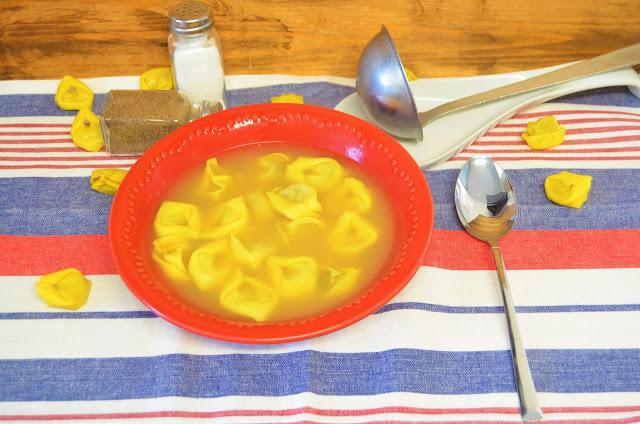 Las delicias de Mayte, recetas saludables, recetas, receta, recetas de cocina, sopa de tortellini, tortellini recetas, recetas de tortellini, recetas de sopa, sopa recetas, tortellini de carne, tortellinis de queso,