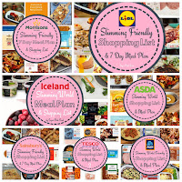 slimming world meal plans and shopping list
