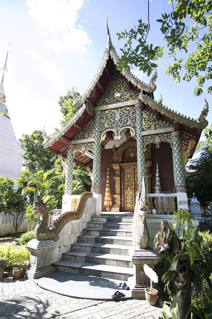 Tempio Wat Chedi Luang-Chiang Mai