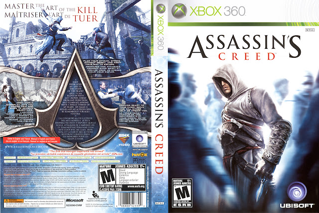 Capa xBox360 Assassin's Creed