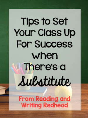 Every teacher has experienced the struggle of needing to miss a day or two of work and needing to leave your classroom in the hands of a substitute teacher. It's not the substitutes we don't trust--it's the students! Our guest blogger shares four tips to set your class up for success when there's a substitute teacher.
