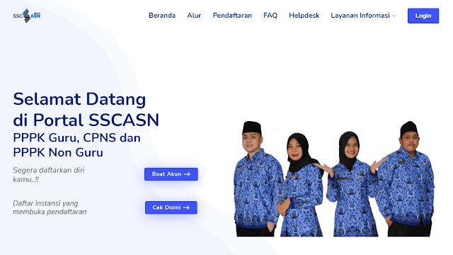 Cara Terbaru Pendaftaran CPNS dan Cek Pengumuman SSCN.BKN.GO.ID