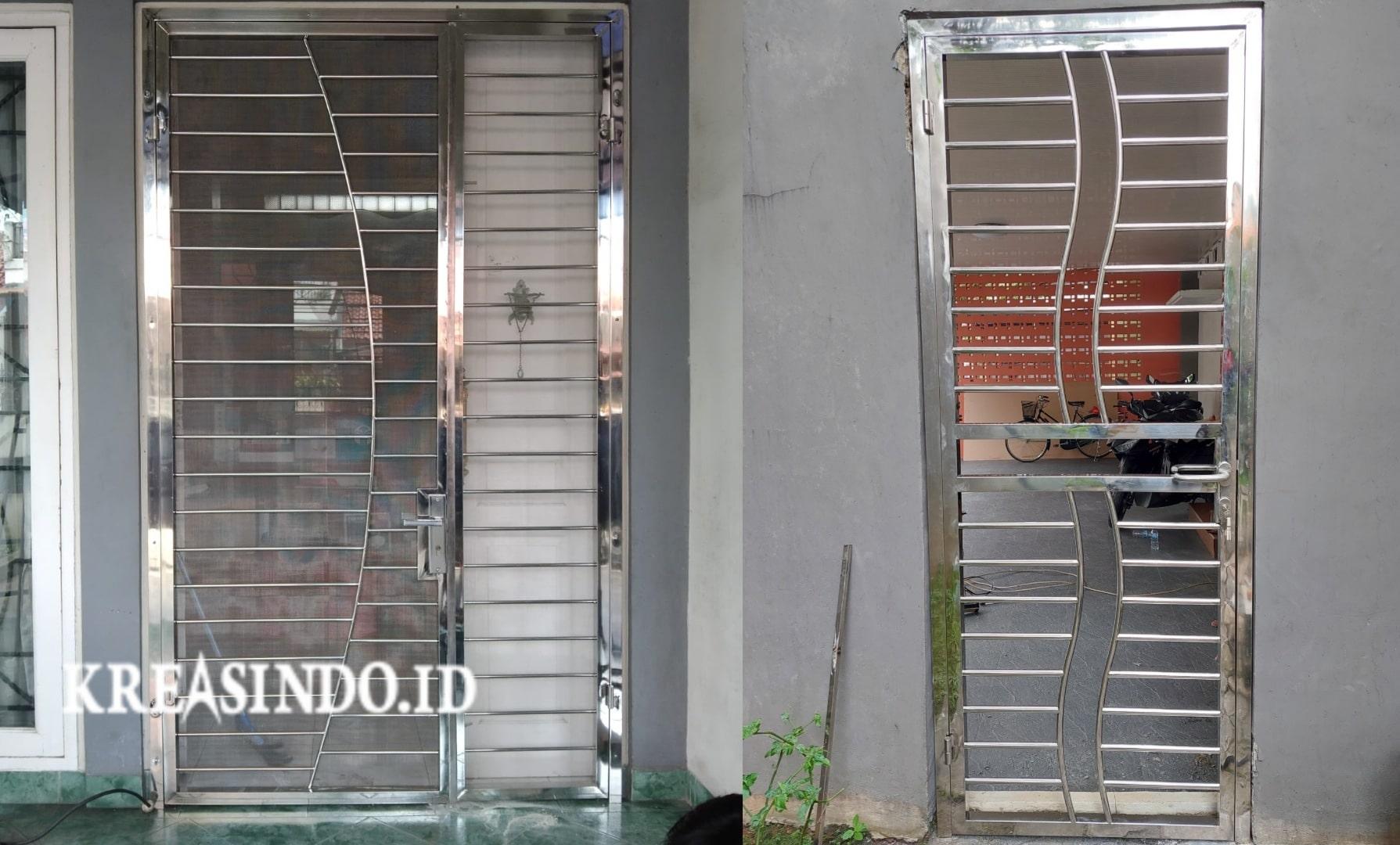Harga Pintu Kawat Nyamuk Teralis Stainless Terbaru [ Upadate Juli 2021 ]