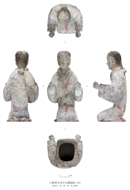 2,200-year-old tomb cluster unearthed in China's Xi'an