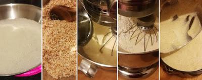 Island Cake - Inseltorte - Zubereitung Tropischer Wunderkuchen