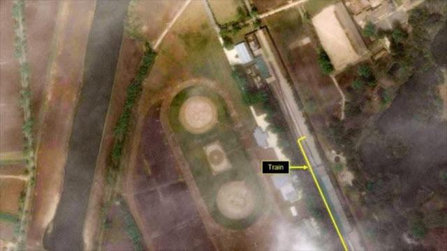 Un satélite localiza el tren de Kim en un balneario norcoreano